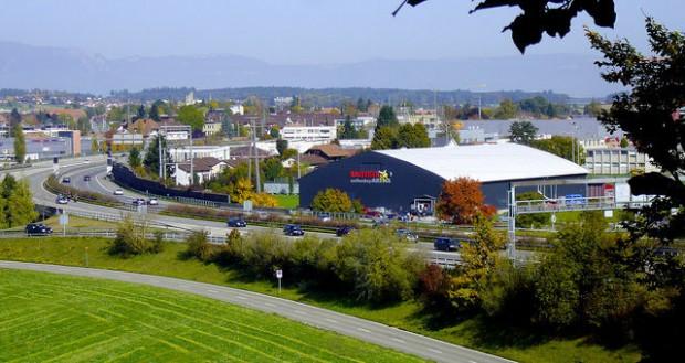 Unihockeyhalle Urtenen-Schönbühl.
